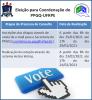 Processo eleitoral para coordenador PPGQ